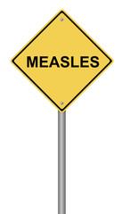 Measles Warning Sign