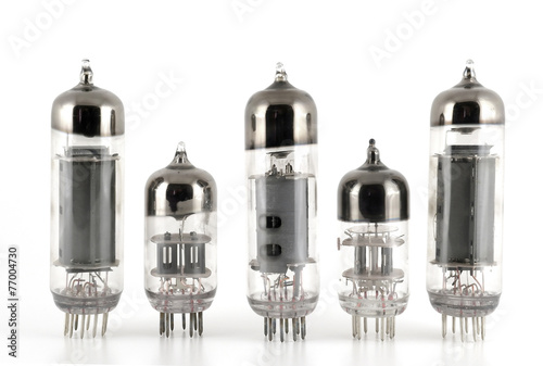 Glass vacuum radio tubes - 77004730