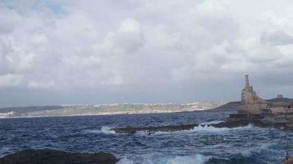 Maltese harbor.Gozo ireland