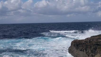 blue coast view malta gozo