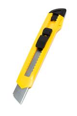 yellow box cutter knife