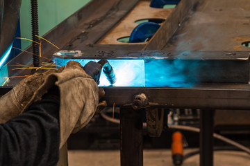 MIG welding
