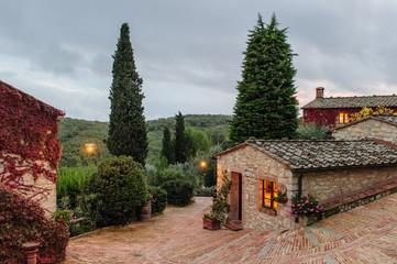 Toscana, borgo antico 2