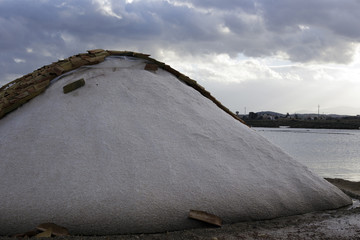 Salt Production in Sicily
