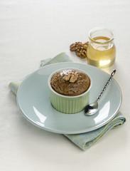 walnut soufflé