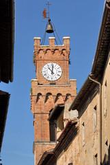 Pienza, campanile
