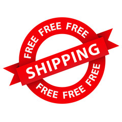 """""""FREE SHIPPING"""" Marketing Stamp (home express service delivery)"""