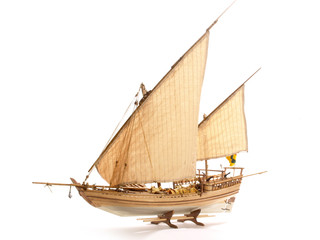 Modellbauschiff - Al Bahran