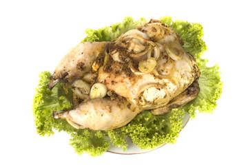 freshly appetizing hot chicken