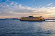 Staten Island Ferry at Dawn - 77017929