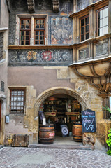 picturesque old house in Colmar in Alsace
