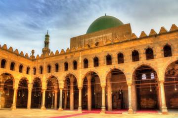 Al-Nasir Muhammad Mosque in Cairo - Egypt