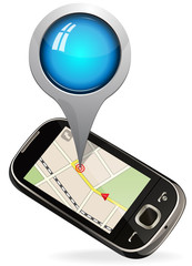 navigation on smart phone