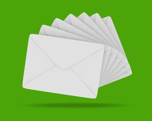 Briefe Weiss Grün