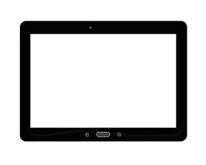 illustration of black tablet