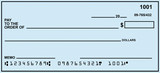 Blank Personal Check