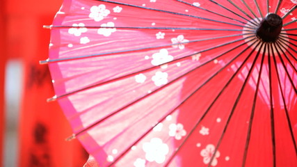 Japanese Culture Oil Paper Parasol Clothing Tourism Japan Travel
