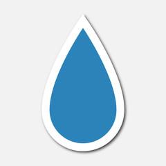 Logo goutte d'eau.