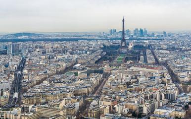 モンパルナス・タワーから望むパリ市内