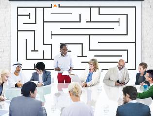 Team Teamwork Support Success Collaboration Graph Unity Concept