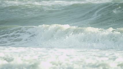 Cleansing Ocean Waves Surf Spray Full Frame