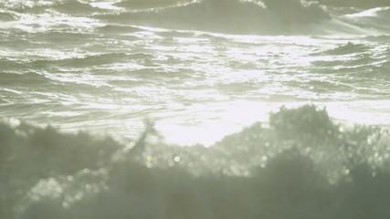 Blue Ocean Water Light Reflections
