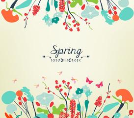 Blossom into spring vintage
