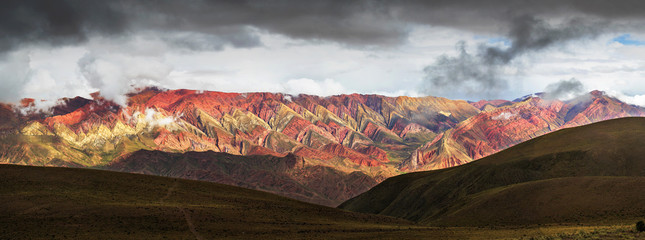 Hornocal, Mountain of fourteen colors, Quebrada de Humahuaca, No