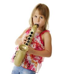 Toy Sax Player