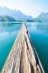 Khao Sok National Park, Mountain and Lake in Southern Thailand