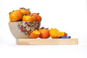 Ripe juicy persimmon