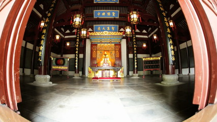 Alter City God Temple Chenghuang Miao Shanghai China