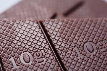 輝くチョコレート