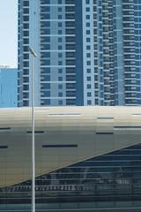 Luxurious high-rise buildings in Dubai