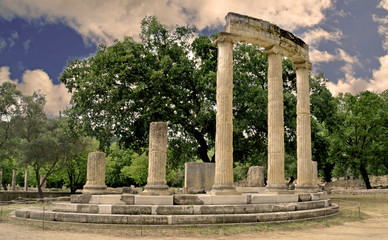 philippeion, ancient olympia greece