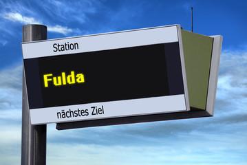 Anzeigetafel 6 - Fulda