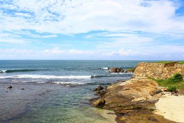 Бастион форта Галле и индийский океан