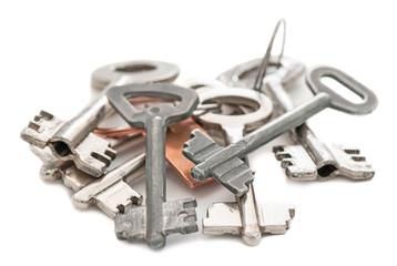 Old metal keys