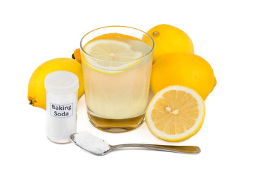 Home remedy to treat gout inflammation - Lemon & Baking Soda