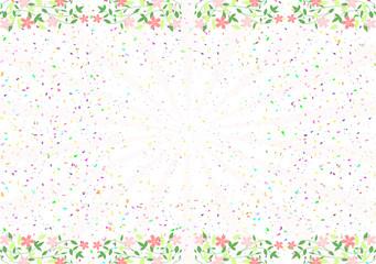 桜 紙吹雪
