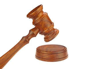 Judges or Presiding Officer or Auctioneers Hardwood Gavel