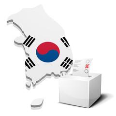 ballotbox South Korea