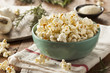 Homemade Rosemary Herb and Cheese Popcorn - 77047968