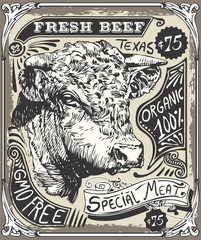 Vintage Beef Advertising Page