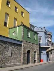 The colourful Dublin Castle, Ireland