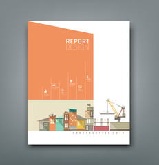 Cover Annual Reports building construction design
