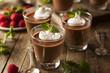 Homemade Dark Chocolate Mousse - 77050702