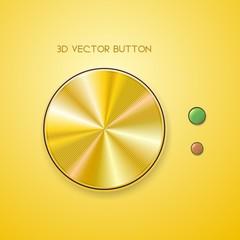 meatalic button
