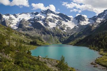 Altai.  Mountain lake