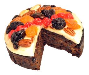 Decorated Fruit Cake